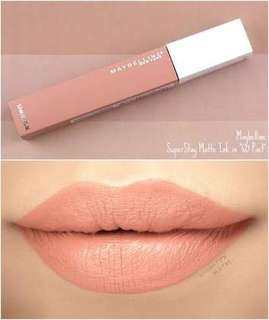 Maybelline - SuperStay Matte Ink Un-nudes collection [Poet]