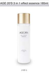 AGE 20'S 3in1 EFFECT ESSENCE $55/1,$105/2