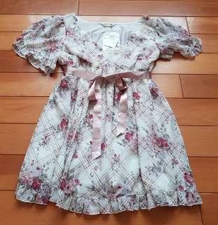 🚚 日本製全新Lest Rose高階花朵淑女娃娃裝