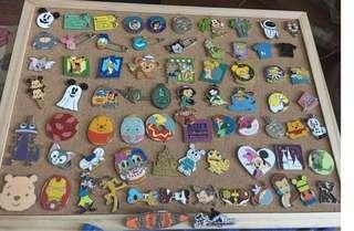 迪士尼徽章 迪士尼襟章 Disney pins for sale and trade