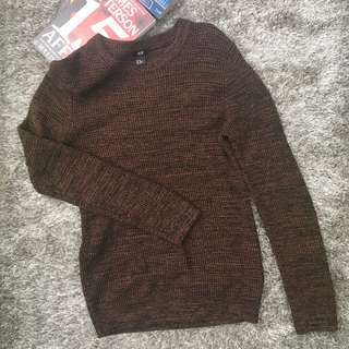 H&M Men Knit Pullover Sweater Size XS for Guys #hm299