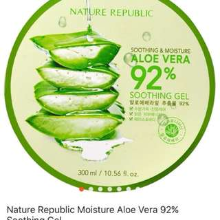 Nature Republic Moisture Aloe Vera 92% Soothing Gel