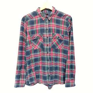 Topshop Check LS Shirt