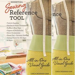 Essential Sewing Reference Tool: All-in-One Visual Guide by Carla Hegeman Crim