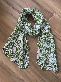 圍巾 綠色 green  Scarf