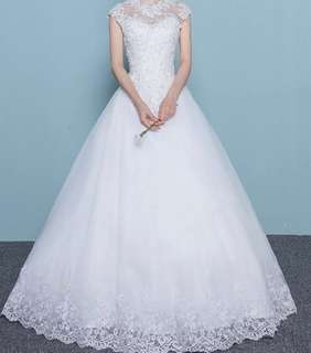 Wedding gown XS to SMALL