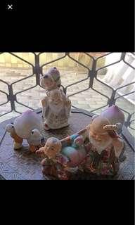 🍑 peach theme kids figurine