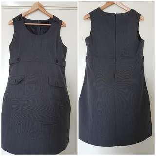 Grey Corporate Dress