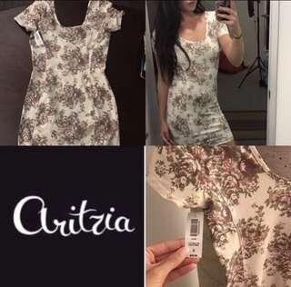 New Aritzia Talula Floral dress size small