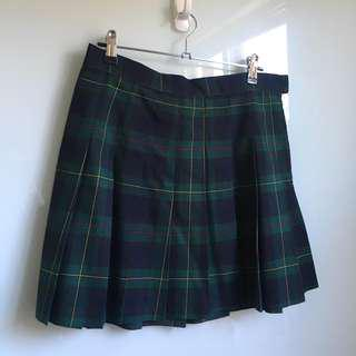 Brand New American Apparel RARE Madeline plaid tennis skirt size L  (BNWT)