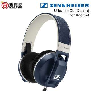 SENNHEISER Urbanite XL Denim (for Android) 深黑藍色 頭戴式耳機