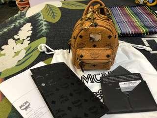MCM 可愛小背包掛件
