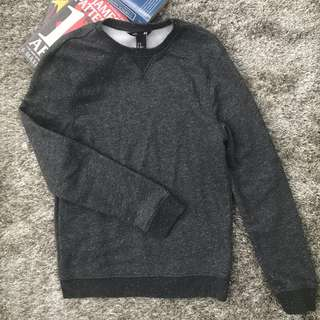 H&M Men Grey Pullover Sweater Size XS for Guys #hm299