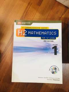 A'level H2 Math Textbook Vol. 1