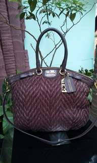 LIMITED 70th annivesary madison coach bag