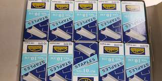 Staples small (1pkt of 10 boxes)