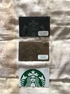Starbucks commemorative/collector's card