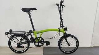 3sixty Foldable Bicycle, brompton look alike.