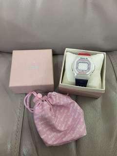 Casio baby G watch 手錶 紅白藍 kesha 金扣