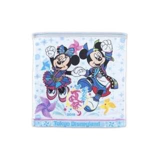 Tokyo Disneysea Disneyland Disney Resorts Sea Land Summer Festival 2018 Mickey & Minnie Mouse Wash Towel Preorder
