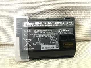 NIKON EN-EL15 Battery (Authentic)