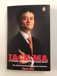 Brand New Jack Ma Autobiography Book