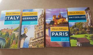 Europe Travel Guide by Rick Steves 2017 (Italy, Germany, Paris, Switzerland)