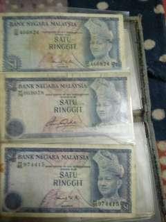 Duit syiling dan duit kertas lama