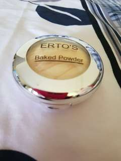 Baked powder ertos