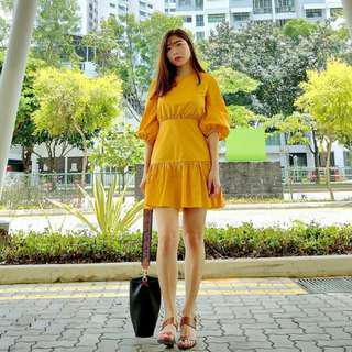 Theclosetlover Paperbag dress