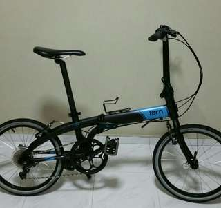Tern bicycle foldie D8