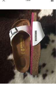 Pink Sole Birkenstock Madrid Size 39
