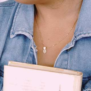 Pineapple Minimalist Necklace (Free Shipping to Metro Manila)
