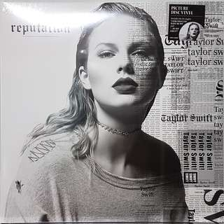 Vinyl Double LP : Taylor Swift - Reputation (Picture Disc)