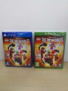 (Brand New) Lego The Incredibles - PS4 / XBox One
