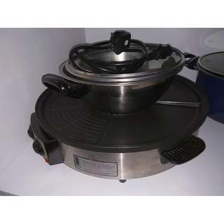 IONA cooker with BBQ