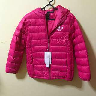 New* 90% Down Winter Jacket with Adidas Logo Waterproof