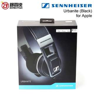 SENNHEISER Urbanite Black (for Apple) 黑色 頭戴式耳機