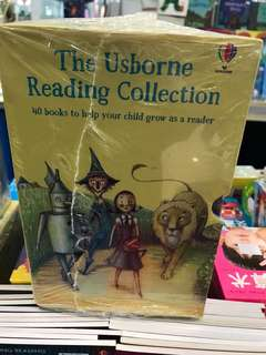 The Usborne Reading Collection Set of 40