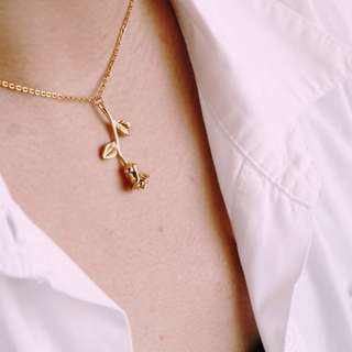Rose Necklace (Free Shipping to Metro Manila)