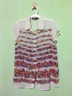 MAX Chiffon floral blouse