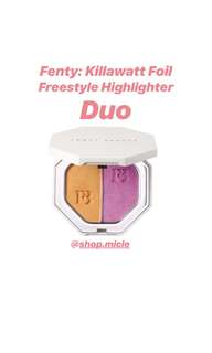 Fenty Beauty by Rihanna: Killawatt Foil Freestyle Highlighter Duo