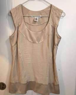 DVF silk top Size small or XS