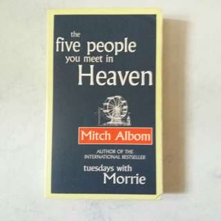 Mitch Albom Books: the five people you meet in heaven