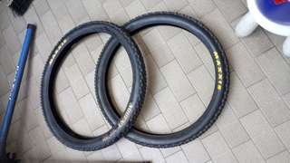 Maxxis ardent 26 x 2.4 folding Tyres( 2 Tyre) MTB / All Mountain Bike / Enduro / Downhill / Freeride / Bicycle