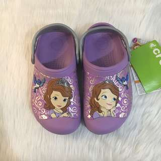 Sofia the First Crocs