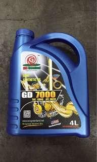 Engine Oil api am/ch semi 10w/40
