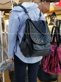 NO: PB447 PU backpack軟仿皮背囊🎒