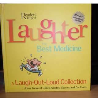 Laughter the best medicine from Readers' Digest.
