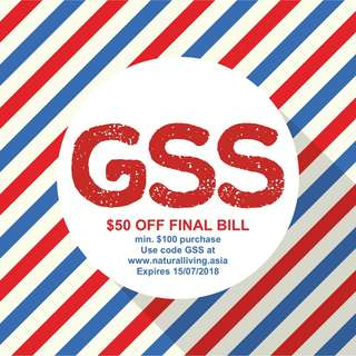 GSS Claim Your $50 Today